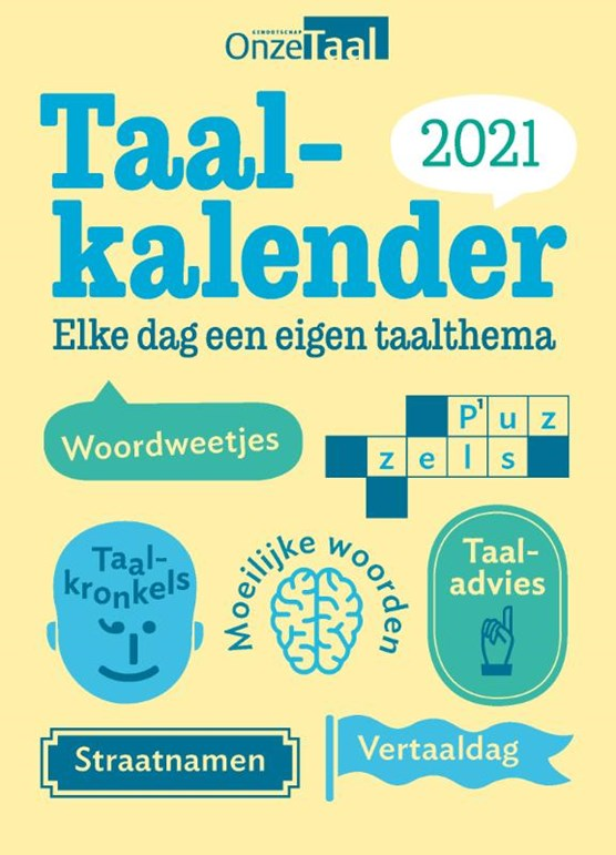 Onze Taal Taalkalender 2021