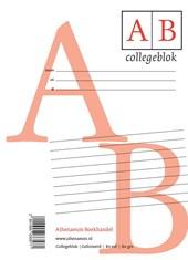 Collegeblok A4 (gelineerd)