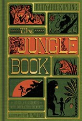Minalima illustrated classics: Jungle book (illustrated with interactive elements)