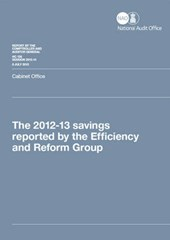 The 2012-13 Savings Reported by the Efficiency and Reform Group