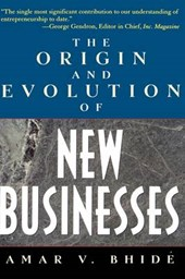 Origins and Evolution of New Businesses