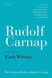 Rudolf Carnap: Early Writings