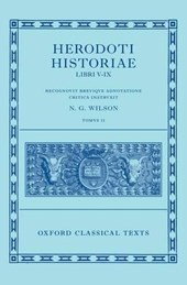 Herodotus: Histories, Books 5-9 (Herodoti Historiae: Libri V