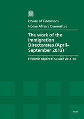 The Work of the Immigration Directorates (April - September 2013)