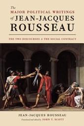 Major political writings of jean-jacques rousseau