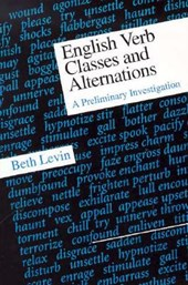 English Verb Classes and Alternations