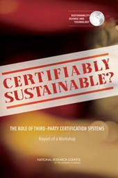 Certifiably Sustainable?