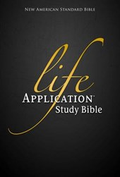NASB, Life Application Study Bible, Second Edition, Bonded Leather, Burgundy, Indexed