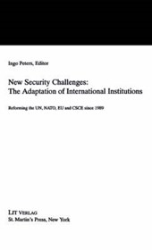 New Security Challenges: the Adaptations of International Institutions
