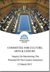 Inquiry on maximising the potential of the creative industries