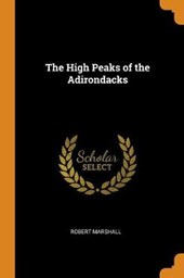 The High Peaks of the Adirondacks
