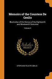 Memoirs of the Countess de Genlis