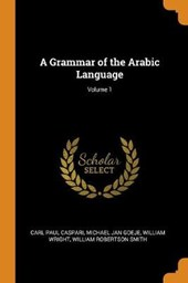 A Grammar of the Arabic Language; Volume 1