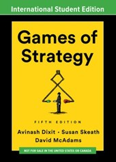 GAMES OF STRATEGY INTERNATIONAL STUDENT EDITION