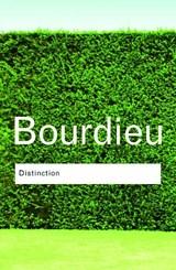 Distinction   Pierre Bourdieu  