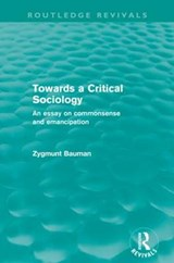Towards a Critical Sociology | Zygmunt Bauman |
