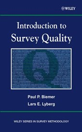 Introduction to Survey Quality