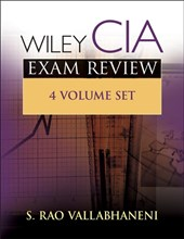 Vallabhaneni, S: Wiley CIA Exam Review/4 vols.