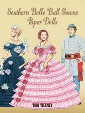 Southern Belle Ball Gowns Paper Dolls