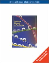 Statistical Methods for Psychology, International Edition