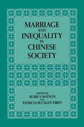 Marriage and Inequality in Chinese Society