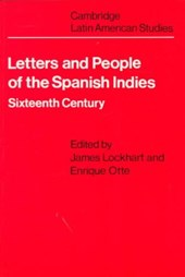 Letters and People of the Spanish Indies