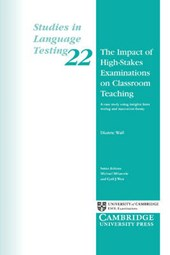 Impact of High-stakes Examinations on Classroom Teaching