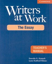 Zemach, D: Writers at Work Teacher's Manual