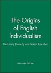 The Origins of English Individualism