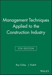 Management Techniques Applied to the Construction Industry