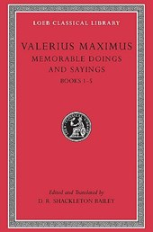 Memorable Doings and Sayings, Volume I