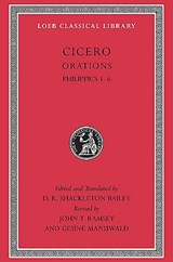 Philippics 1-6   Marcus Tullius Cicero ; D. R. Shackleton Bailey  