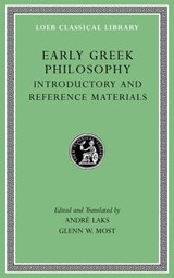 Early Greek Philosophy, Volume I | Glenn W. Most ; Andre Lacks |