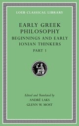 Early Greek Philosophy, Volume II | Glenn W. Most ; Andre Lacks |