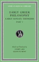 Early Greek Philosophy, Volume III | Glenn W. Most ; Andre Lacks |