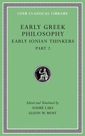 Early Greek Philosophy, Volume III