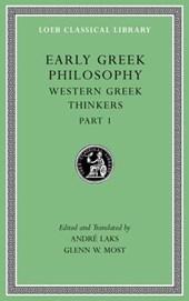 Early Greek Philosophy, Volume Iv