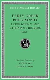 Early Greek Philosophy, Volume VI