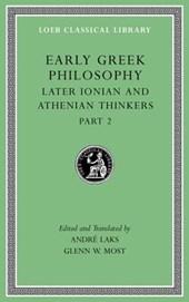 Early Greek Philosophy, Volume VII