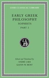 Early Greek Philosophy, Volume IX