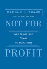 Not for profit | Martha C. Nussbaum |
