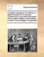 A Pocket Companion for Oxford