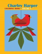 Charley Harper Volume I Colouring Book