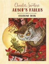 Charles Santore Aesop's Fables Coloring Book