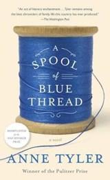 Spool of blue thread   Anne Tyler  