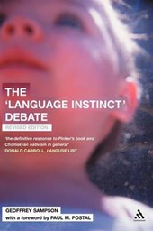 Language Instinct Debate