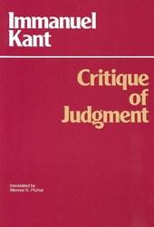 Critique of Judgment