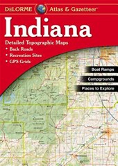 INDIANA ATLAS & GAZETTEER 5/E