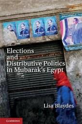 Elections and Distributive Politics in Mubarak's Egypt