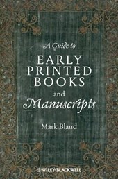 A Guide to Early Printed Books and Manuscripts